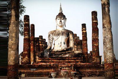 Old ruins buddha3